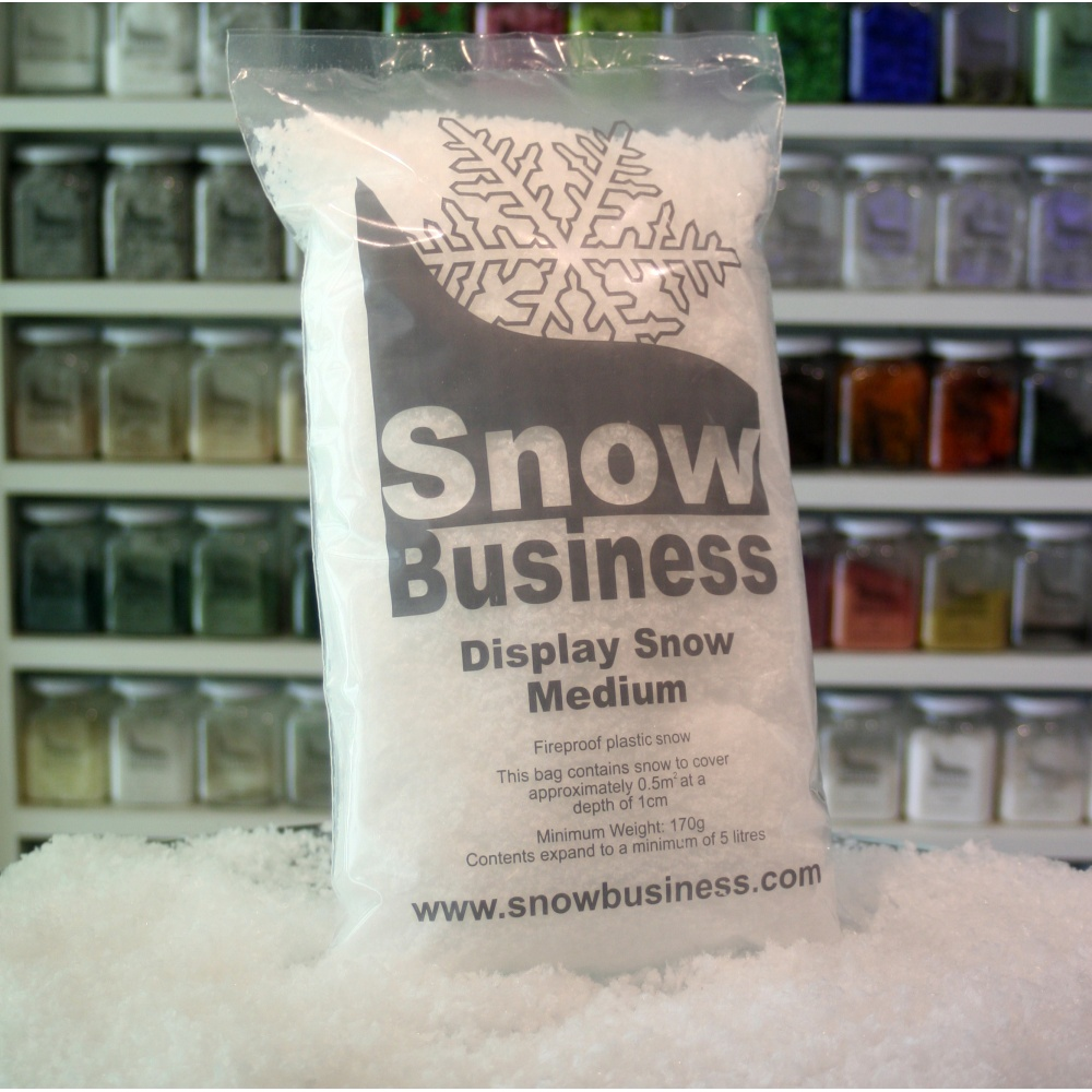 Display snow litre bag gms artificial ebay