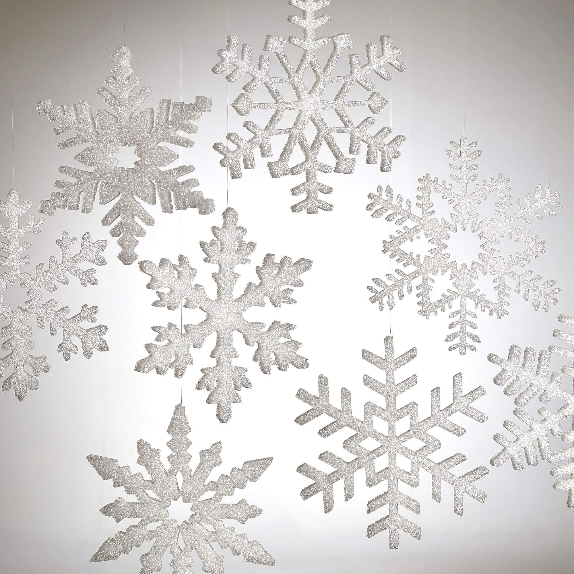 Large Snowflake Decorations
